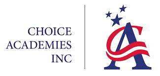 Choice Academies logo, charter school education